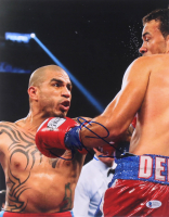 Miguel Cotto Signed 11x14 Photo (Beckett COA) at PristineAuction.com