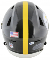 JuJu Smith-Schuster Signed Pittsburgh Steelers Full-Size Authentic On-Field SpeedFlex Helmet with (3) Inscriptions (Beckett COA) at PristineAuction.com