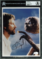 "Steven Spielberg Signed ""E.T."" 8x10 Photo (BGS Encapsulated) at PristineAuction.com"