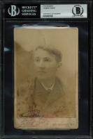 Thomas Edison Signed 4x5.75 Photo (BGS Encapsulated) at PristineAuction.com