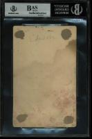 Thomas Edison Signed 4x5.75 Photo (BGS Encapsulated) at PristineAuction.com