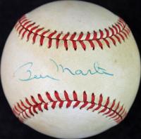 Billy Martin Signed OAL Baseball (JSA COA & PSA LOA) at PristineAuction.com