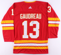 Johnny Gaudreau Signed Calgary Flames Jersey (JSA COA) at PristineAuction.com