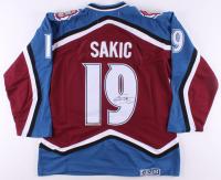 Joe Sakic Signed Colorado Avalanche Captain Jersey (JSA Hologram) at PristineAuction.com