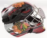 Ed Belfour Signed Chicago Blackhawks Full-Size Goalie Mask (Schwartz COA) at PristineAuction.com