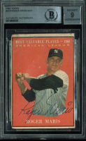 Roger Maris Signed 1961 Topps #478 MVP (BGS Encapsulated) at PristineAuction.com