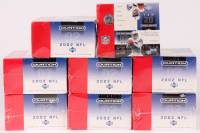 Lot of (8) 2002 Upper Deck Ovation Football Unopened Box with (24) Packs at PristineAuction.com