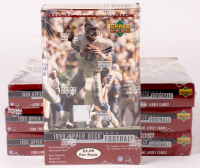 Lot of (7) 1999 Upper Deck Football Unopened Box with (24) Packs at PristineAuction.com