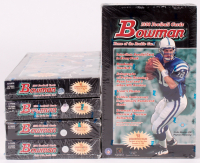 Lot of (5) 1998 Bowman Football Unopened Boxes with (24) Packs at PristineAuction.com