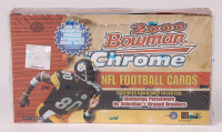 2000 Bowman Chrome Football Unopened Hobby Box of (24) Packs at PristineAuction.com