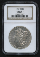 1902-O $1 Morgan Silver Dollar (NGC MS 65) at PristineAuction.com