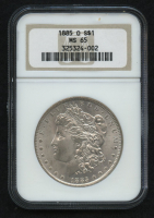 1885-O $1 Morgan Silver Dollar (NGC MS 65) at PristineAuction.com