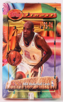 1993-94 Topps Finest Basketball Unopened Box with (24) Packs at PristineAuction.com