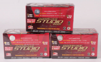Lot of (3) Factory Sealed Boxes of 2001 Donruss Studio Baseball Cards at PristineAuction.com