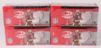 Lot of (4) 2002 Donruss Football Card Hobby Boxes with (24) Packs Each at PristineAuction.com