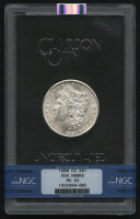 1880-CC $1 Morgan Silver Dollar (NGC MS 62) at PristineAuction.com