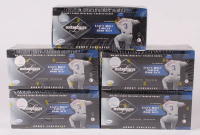 Lot of (5)  2001 Leaf Limited Baseball Hobby Boxes at PristineAuction.com
