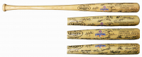 2016 Chicago Cubs World Series Champions Louisville Slugger Baseball Bat Team-Signed by (26) with Kris Bryant, Anthony Rizzo, Theo Epstein, Ben Zobrist, Kyle Schwarber, Javier Baez (Schwartz COA & Fanatics Hologram) at PristineAuction.com