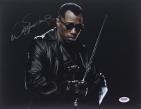 """Wesley Snipes Signed """"Blade"""" 11x14 Photo (PSA COA) at PristineAuction.com"""