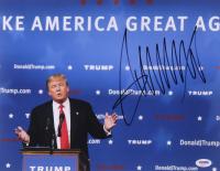 Donald Trump Signed 11x14 Photo (PSA LOA) at PristineAuction.com