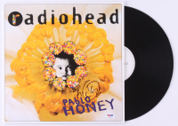 "Thom Yorke Signed Radiohead ""Pablo Honey"" Vinyl Record Album (PSA COA) at PristineAuction.com"