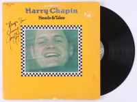 "Harry Chapin Signed ""Heads & Tales"" Vinyl Record Album Inscribed ""Keep the Change!"" (JSA LOA) at PristineAuction.com"