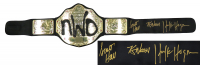 "Hulk Hogan, Kevin Nash, & Scott Hall Signed WWE ""NWO"" World Heavyweight Championship Belt (Schwartz COA) at PristineAuction.com"