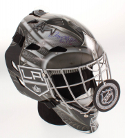 "Rogie Vachon Signed Los Angeles Kings Full-Size Hockey Goalie Mask Inscribed ""H.O.F. 16"" (Schwartz COA) at PristineAuction.com"