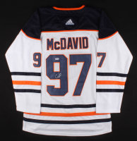 Connor McDavid Signed Edmonton Oilers Captain Jersey (PSA COA) at PristineAuction.com