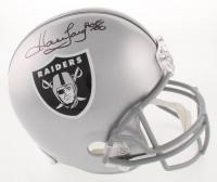 "Howie Long Signed Raiders Full-Size Helmet Inscribed ""HOF 00"" (JSA COA) at PristineAuction.com"