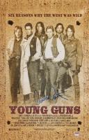 "Emilio Estevez Signed ""Young Guns"" 11x17 Photo (Schwartz COA) at PristineAuction.com"