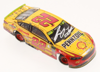 Joey Logano Signed LE NASCAR 2018 #22 Shell-Pennzoil - Homestead Win - 1:24 Diecast Car (Action COA) at PristineAuction.com
