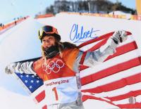 Chloe Kim Signed 2018 Team USA Winter Olympics 11x14 Photo (LOJO COA) at PristineAuction.com