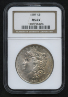 1889 Morgan Silver Dollar (NGC MS63) (Toned) at PristineAuction.com
