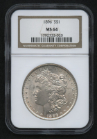 1896 Morgan Silver Dollar (NGC MS64) at PristineAuction.com