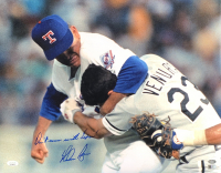 """Nolan Ryan Signed Rangers 16x20 Photo Inscribed """"Don't Mess with Texas!"""" (AI Verified COA & Ryan Hologram) at PristineAuction.com"""