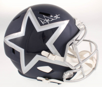 Dak Prescott Signed Dallas Cowboys Full-Size AMP Alternate Speed Helmet (Beckett COA & Prescott Hologram) at PristineAuction.com