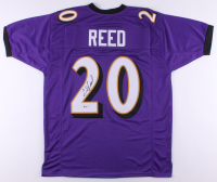 Ed Reed Signed Jersey (Beckett COA) at PristineAuction.com
