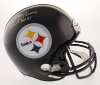 "Joe Green Signed Pittsburgh Steelers Full-Size Helmet Inscribed ""HOF 87"" (JSA COA) at PristineAuction.com"