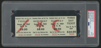 Woodstock Authentic Unused Three-Day Ticket from August 15-17, 1969 (PSA 10) at PristineAuction.com