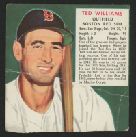 1952 Red Man #AL23 Ted Williams at PristineAuction.com