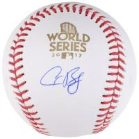 Alex Bregman Signed 2017 World Series Logo Baseball (Fanatics Hologram) at PristineAuction.com