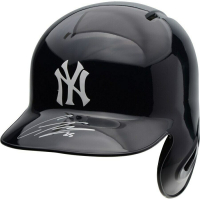 Gleyber Torres Signed New York Yankees Full-Size Batting Helmet (Fanatics Hologram) at PristineAuction.com