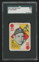 1951 Topps Red Backs #1 Yogi Berra (SGC 7) at PristineAuction.com