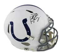 Peyton Manning Signed Indianapolis Colts Full-Size Authentic On-Field Speed Helmet (Fanatics Hologram) at PristineAuction.com