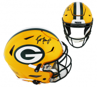 Brett Favre Signed Green Bay Packers Full-Size Authentic On-Field SpeedFlex Helmet (Radtke COA) at PristineAuction.com