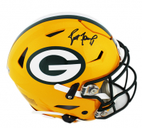 Brett Favre Signed Packers Full-Size Authentic On-Field SpeedFlex Helmet (Radtke COA) at PristineAuction.com