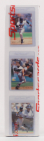 1993 Flair Complete Set of (300) Baseball Cards with #138 Barry Bonds, #157 Cal Ripken, #270 Ken Griffey Jr. at PristineAuction.com