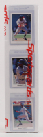 1990 Leaf Complete Set of (528) Baseball Cards with #300 Frank Thomas RC, #245 Ken Griffey Jr., #220 Sammy Sosa RC at PristineAuction.com
