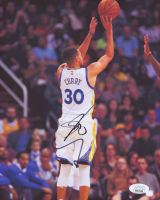 Stephen Curry Signed Golden State Warriors 8x10 Photo (JSA COA) at PristineAuction.com